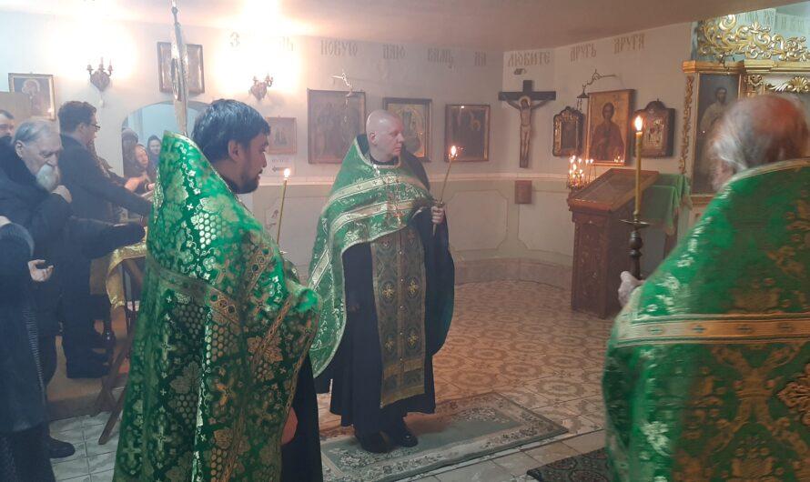 Память святого блаженного Прокопия Вятского (2-3 января 2020). Фотографии со службы