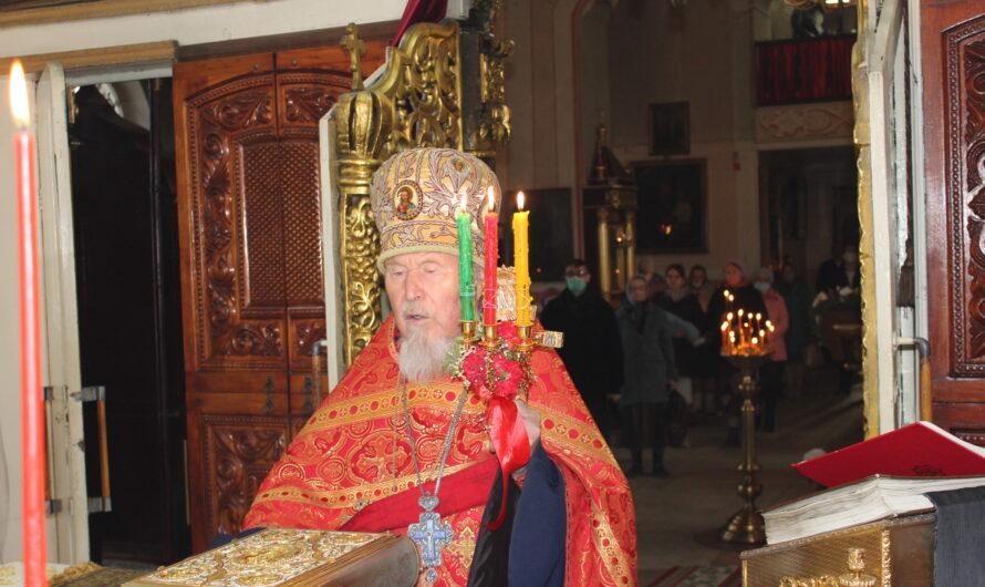 Митрофорный протоиерей Симеон Петров удостоен Патриаршей награды