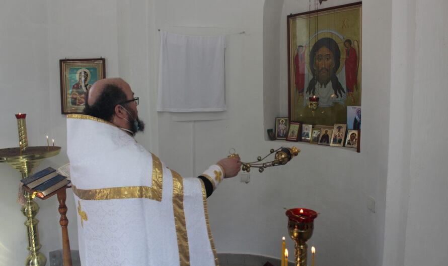 Молебен и панихида в часовне во имя святителя Стефана Великопермского