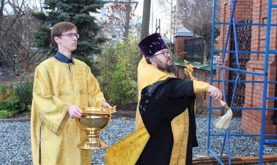Освящение святых врат. Фото и видео