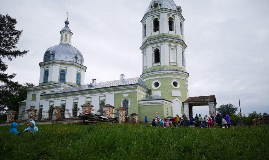 Учащиеся Воскресной школы нашего храма посетили старинное село Истобенск
