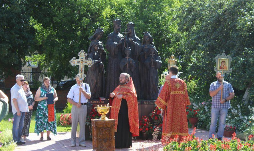 Крестный ход в день памяти святых Царственных страстотерпцев