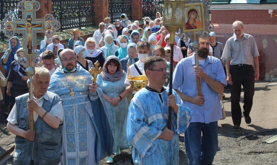 Празднование в честь Тихвинской иконы Пресвятой Богородицы