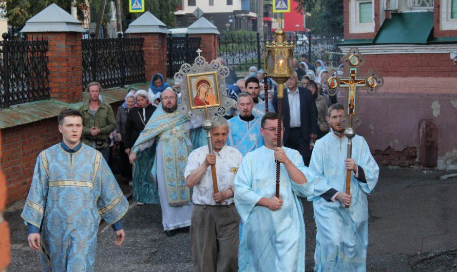 Чин погребения Пресвятой Богородицы. Фотографии со службы
