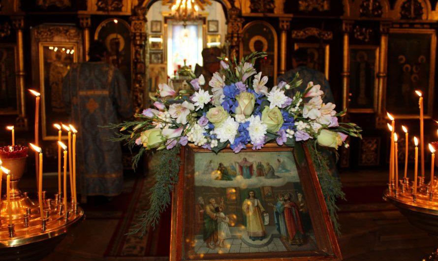 Покров Пресвятой Богородицы. Фото со службы