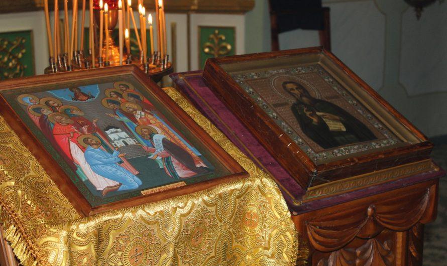 День памяти преподобного Трифона Вятского и Собор Вятских Святых. Фото со службы