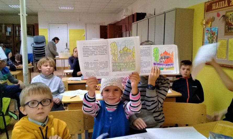 Занятия группы детского церковного хора «Чудеса»